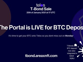 Get ready for the T-BONDS 25 th January at 17 UTC – portal open Now